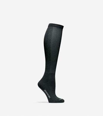Grand.ØS Auxetic Texture Knee High Socks