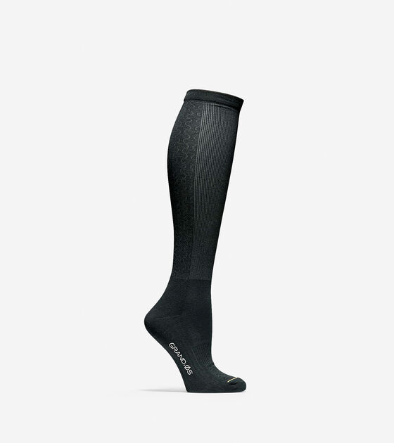 Accessories > Grand.ØS Auxetic Texture Knee High Socks