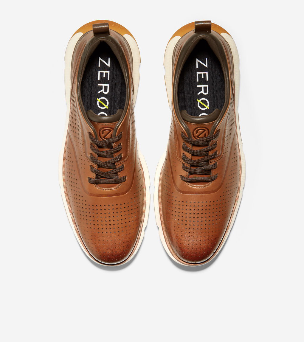MENS 4.ZERØGRAND Perforated Oxford