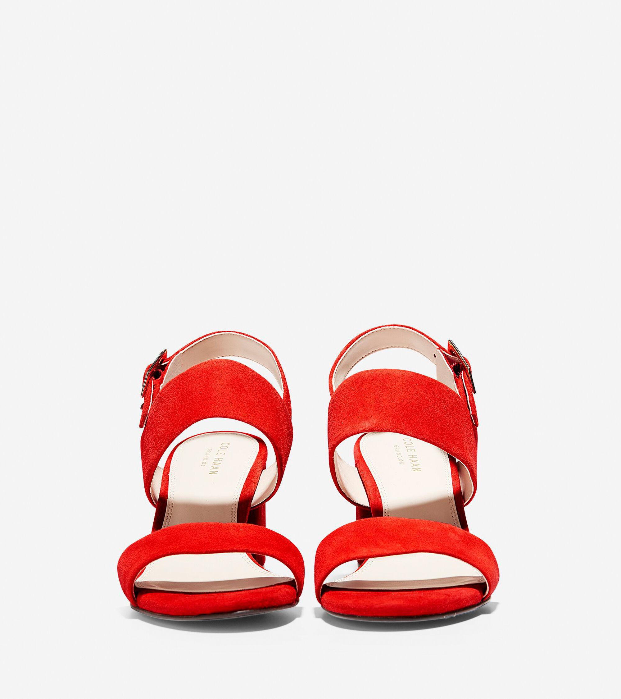 d0b15fc07d Women's Avani City Sandals 65mm in Aura Orange | Cole Haan