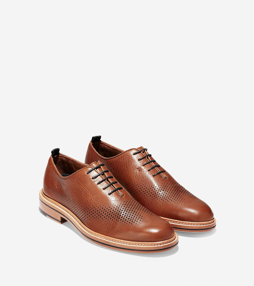 Mens Washington Grand Unlined Laser Wingtip Oxford