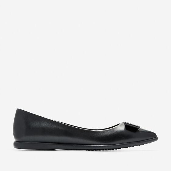 Flats & Ballets > Women's ZERØGRAND Bow Skimmer Flat