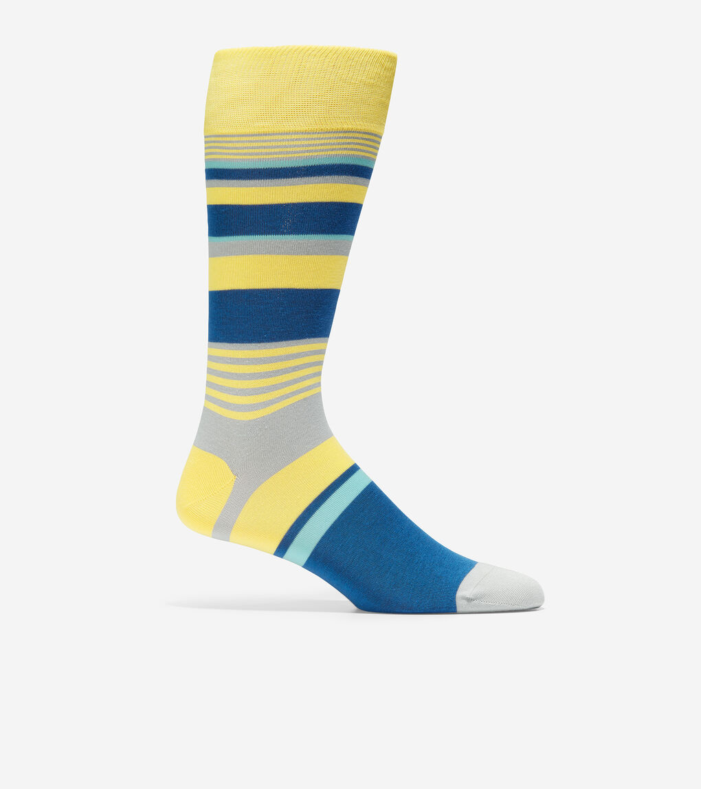 MENS City Stripe Crew Socks