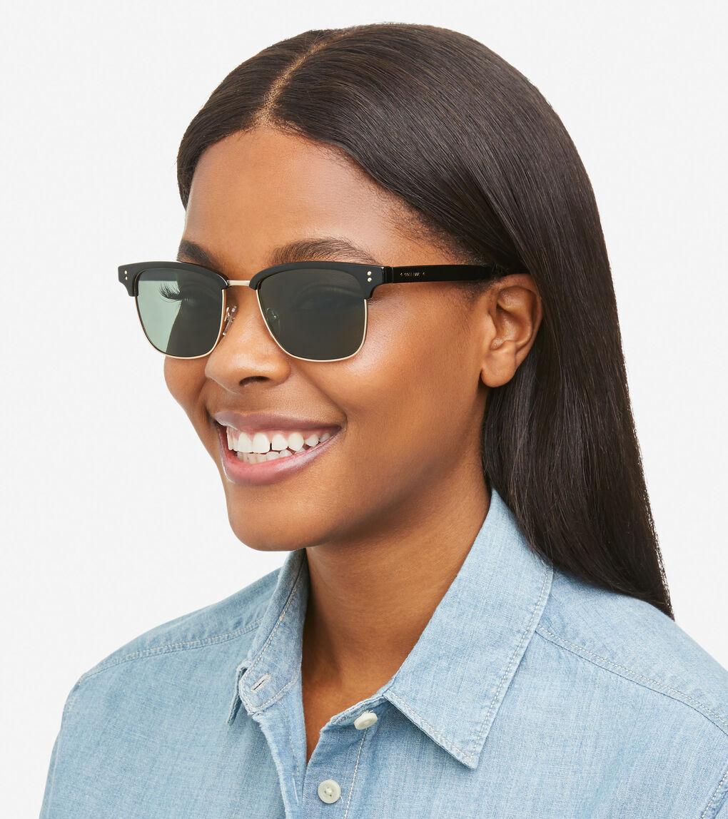 WOMENS Acetate Square Sunglasses