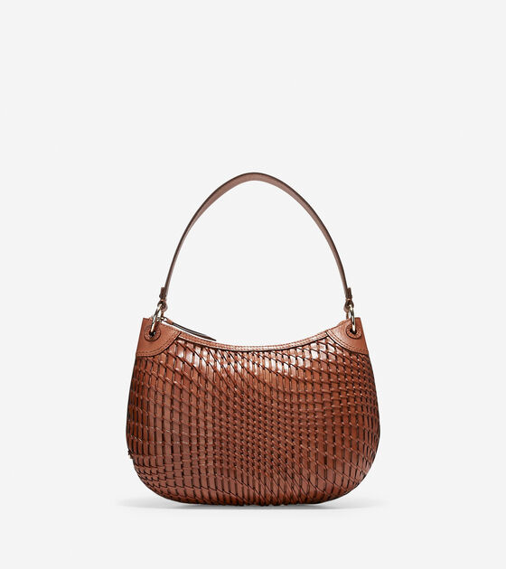 Handbags Genevieve Open Weave Hobo