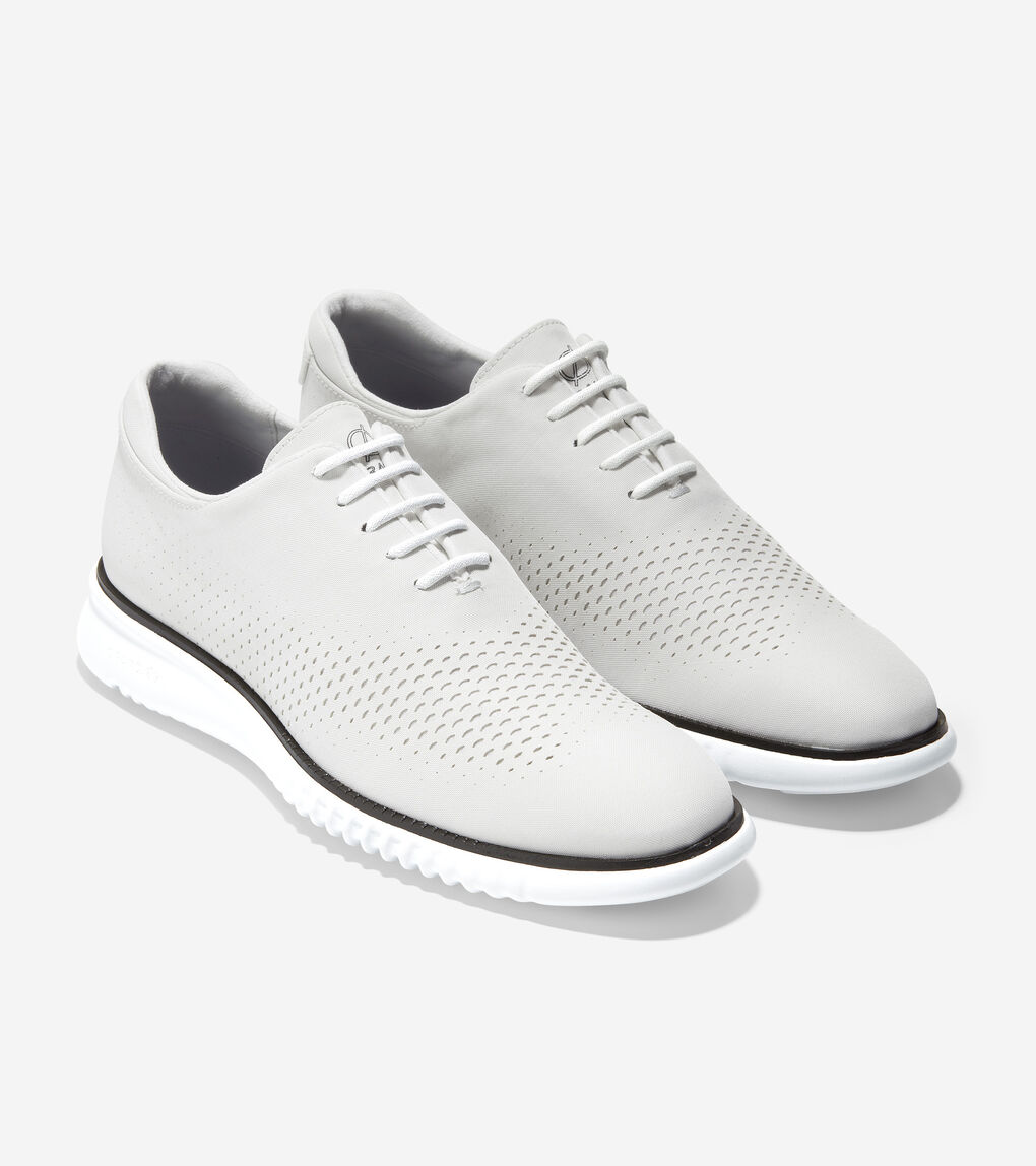 Mens 2.ZERØGRAND Laser Wingtip Oxford