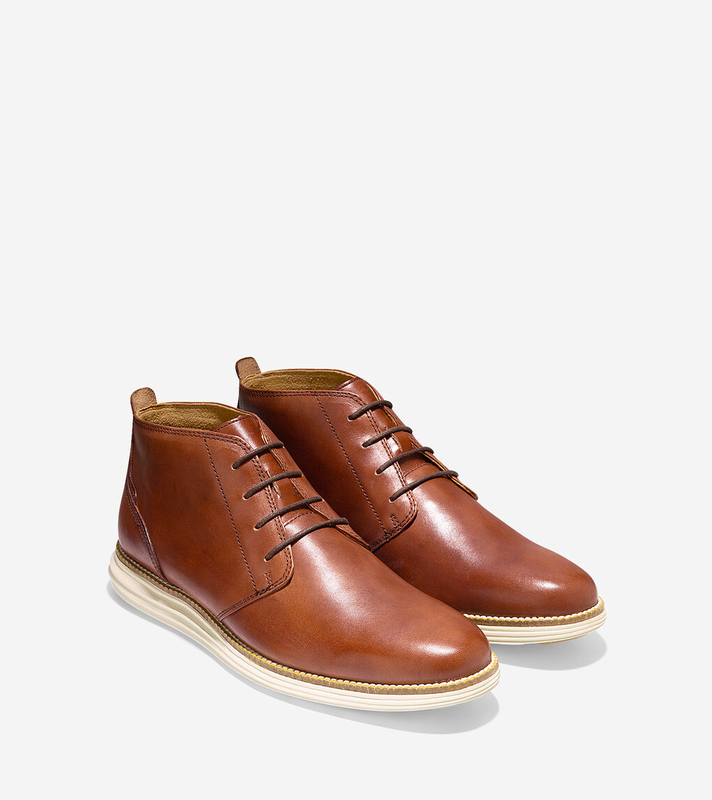 ØriginalGrand Chukka - Desert Taupe Leather-cobblestone