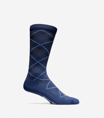 Grand.ØS Diamond Crew Socks
