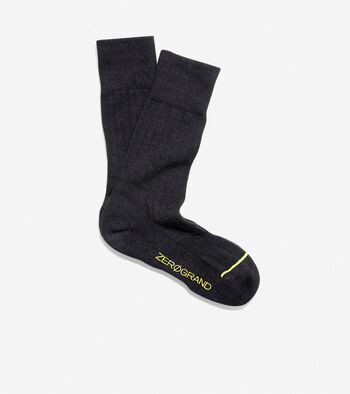 ZERØGRAND Rib Crew Sock