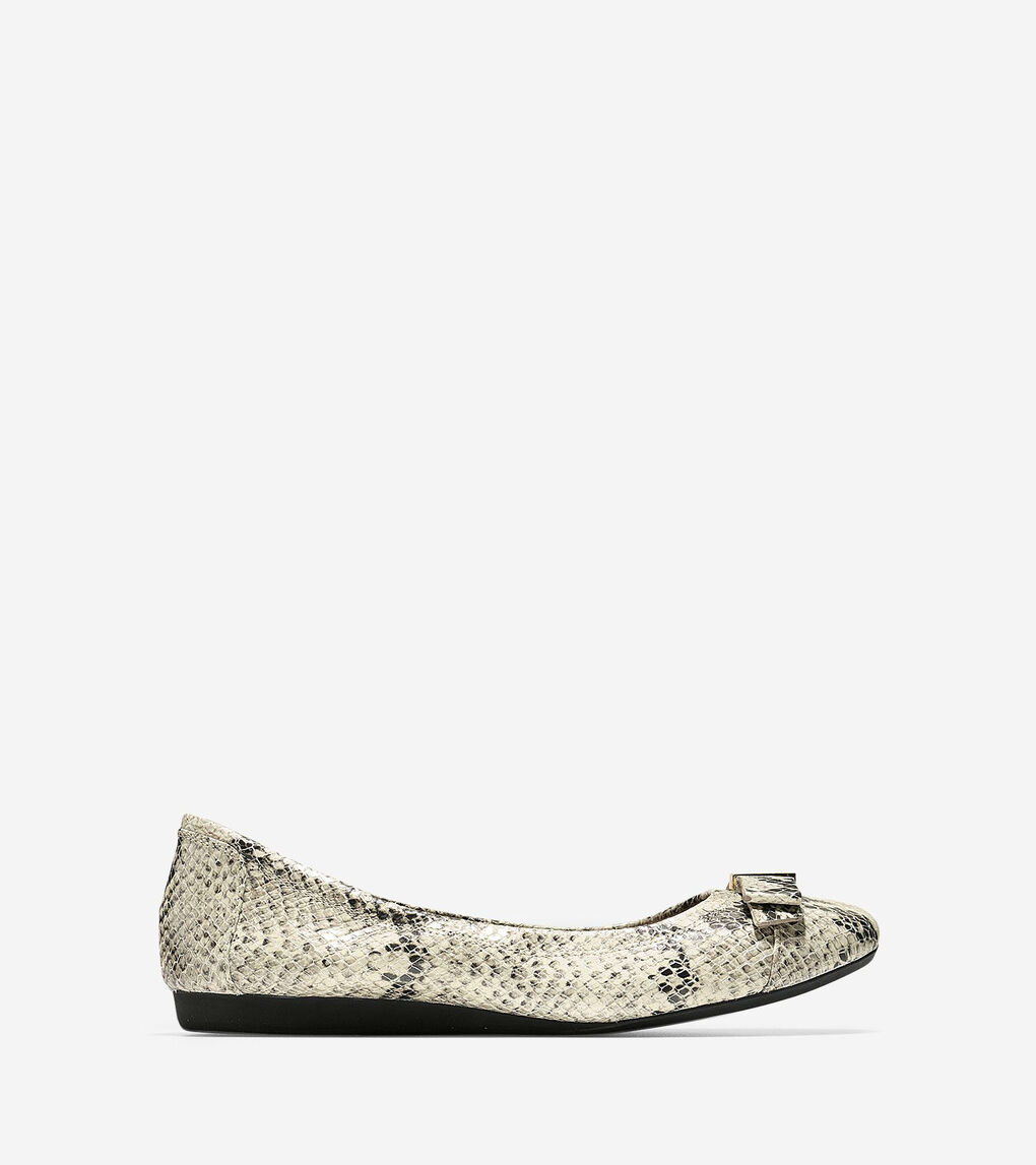 a8901a185 Women's Elsie Ballet Flat in Roccia Snake Print | Cole Haan US