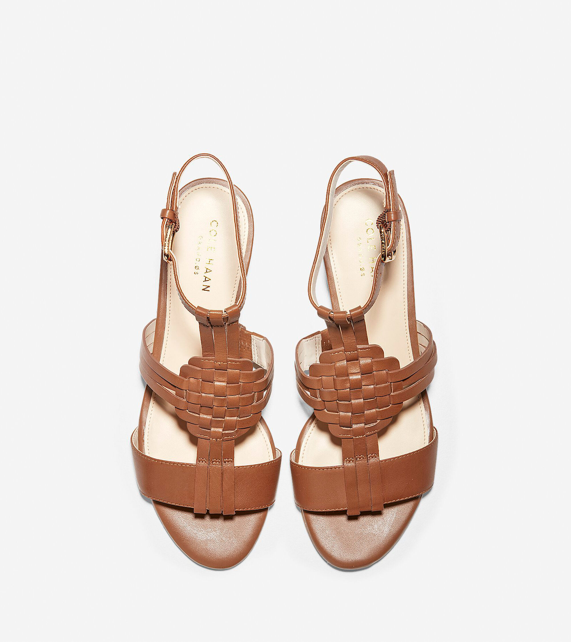 2208fbb2b3a3 Women s Findra Woven Slide Wedge Sandals in British Tan