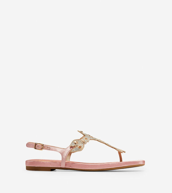 9f64ebfe6874b Women s Pinch Lobster Sandals in Coral Almond Satin