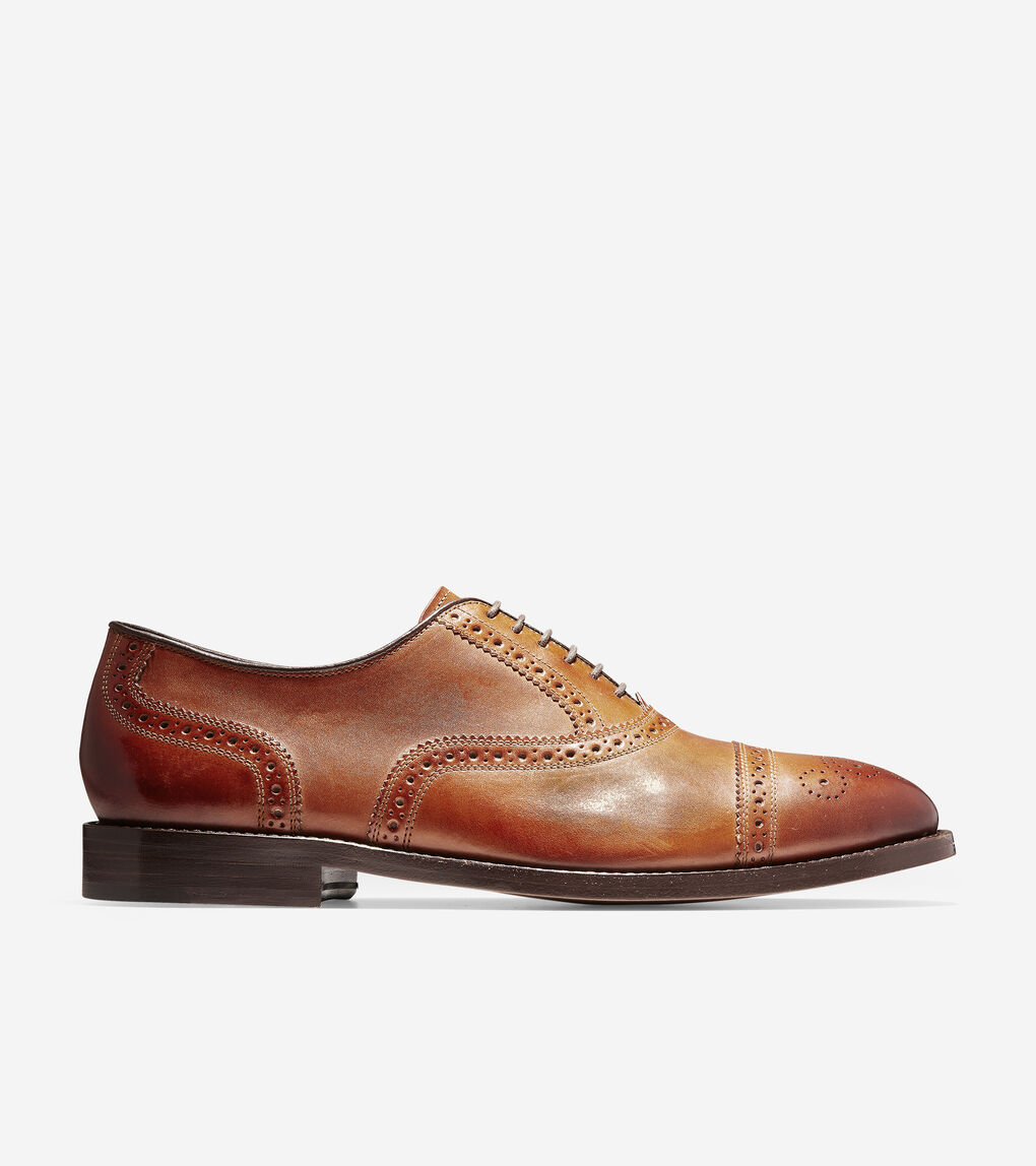 Mens Cole Haan American Classic Kneeland Brogue Cap Toe Oxford