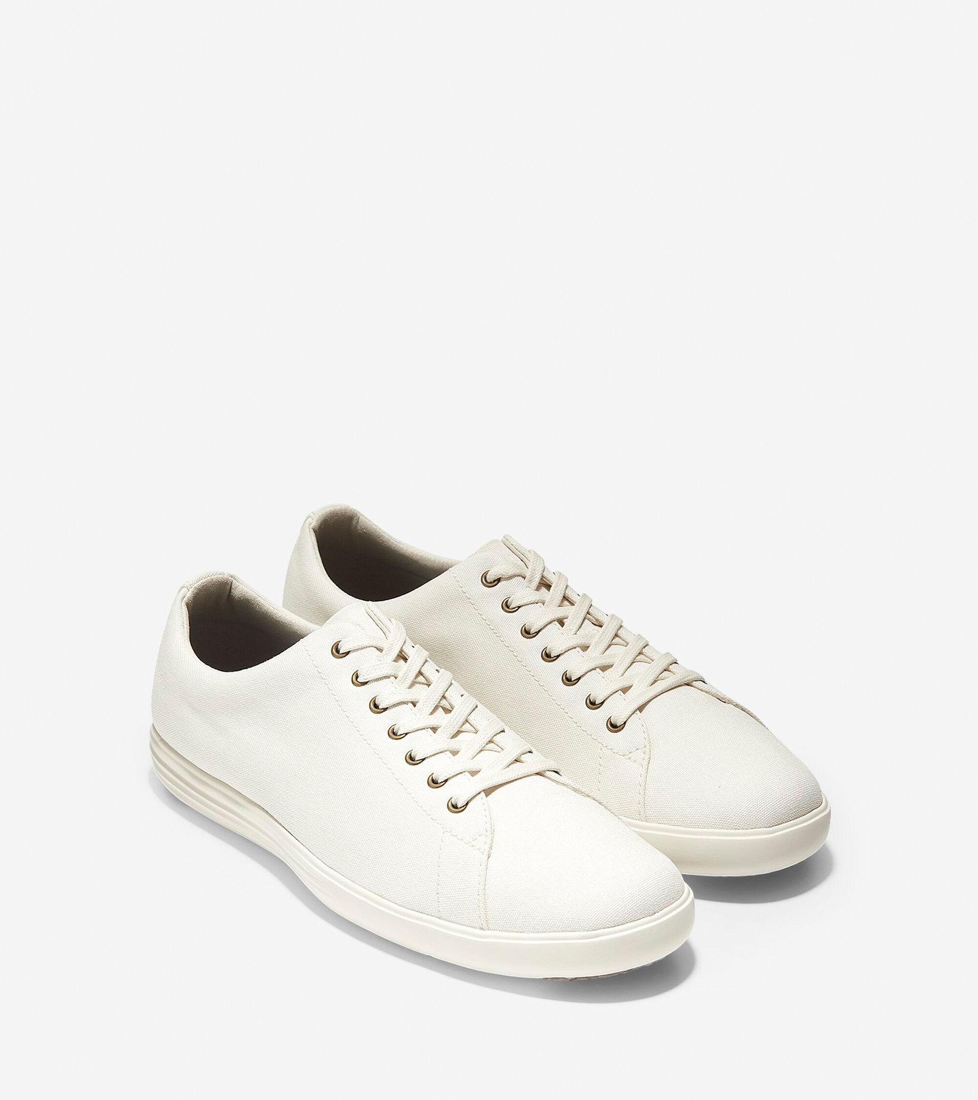e506c4c8a45a Men s Grand Crosscourt Sneakers in Ivory Canvas