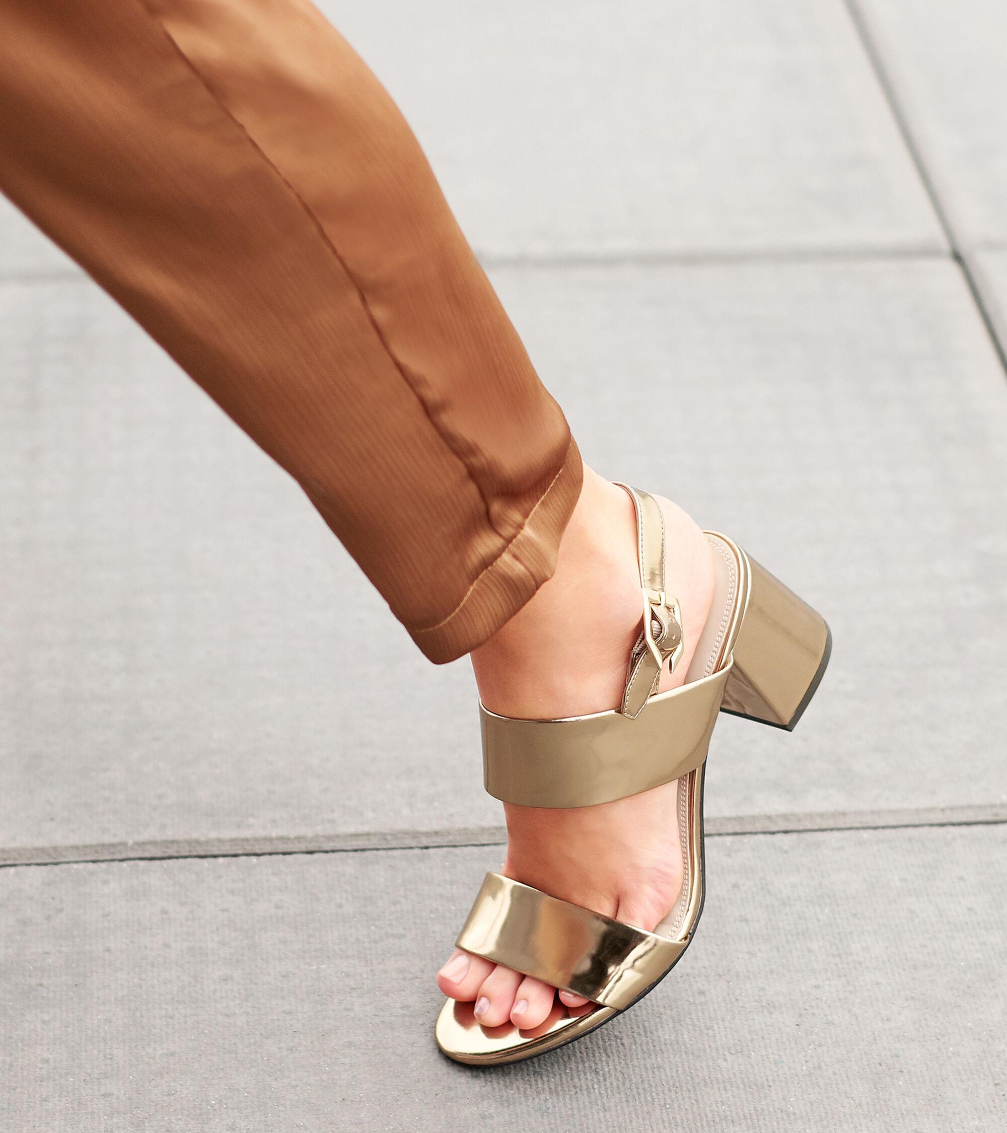 8fa0cb72ca Women's Avani City Sandals 65mm in Gold | Cole Haan