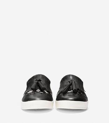 Women's GrandPrø Spectator Kiltie Tassel Slip-On Sneaker