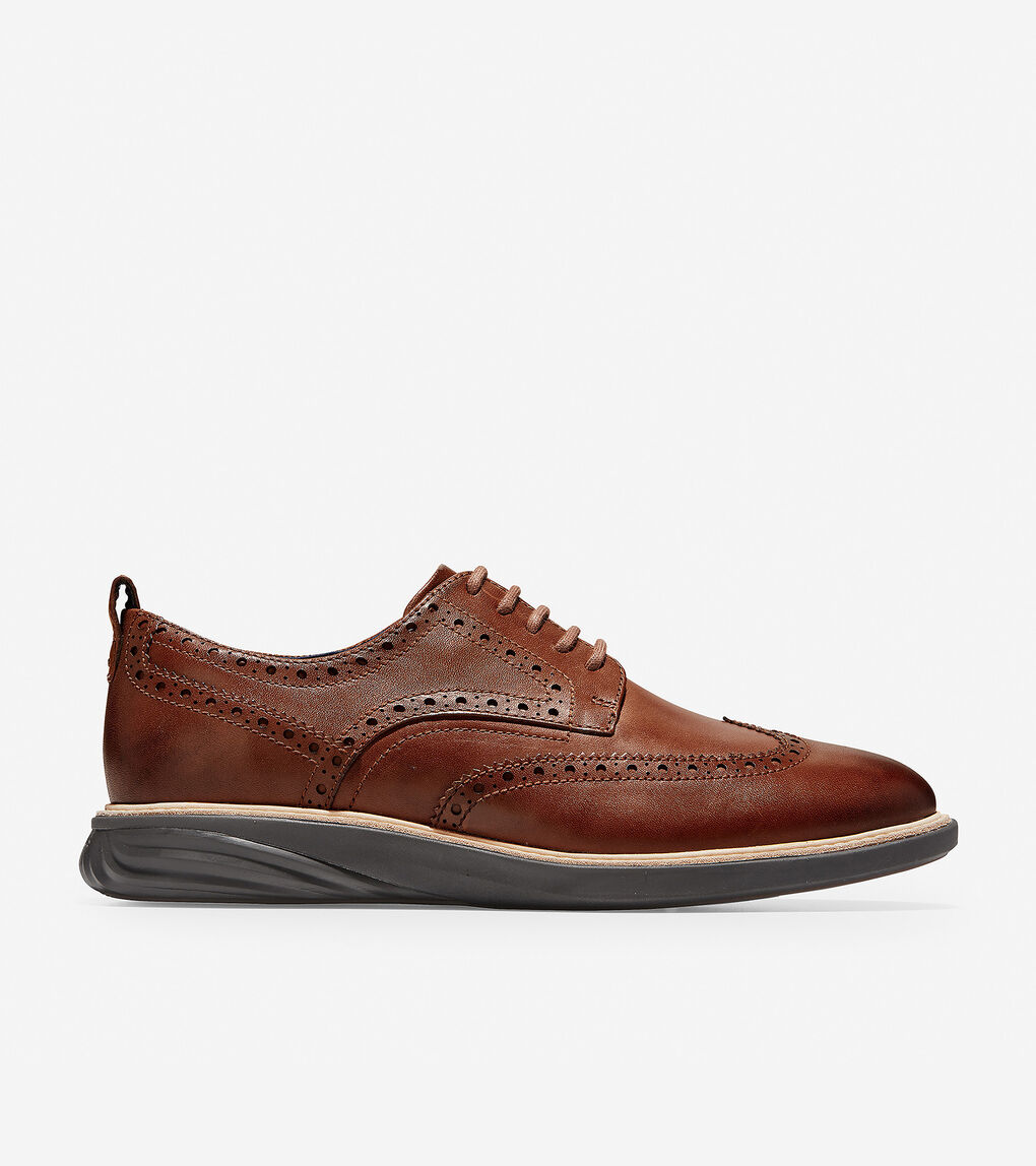 Mens GrandEvølution Wingtip Oxford