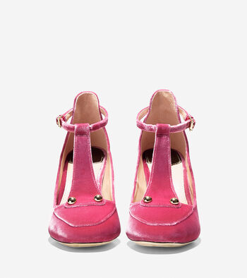Collection T-Strap Pump (85mm)