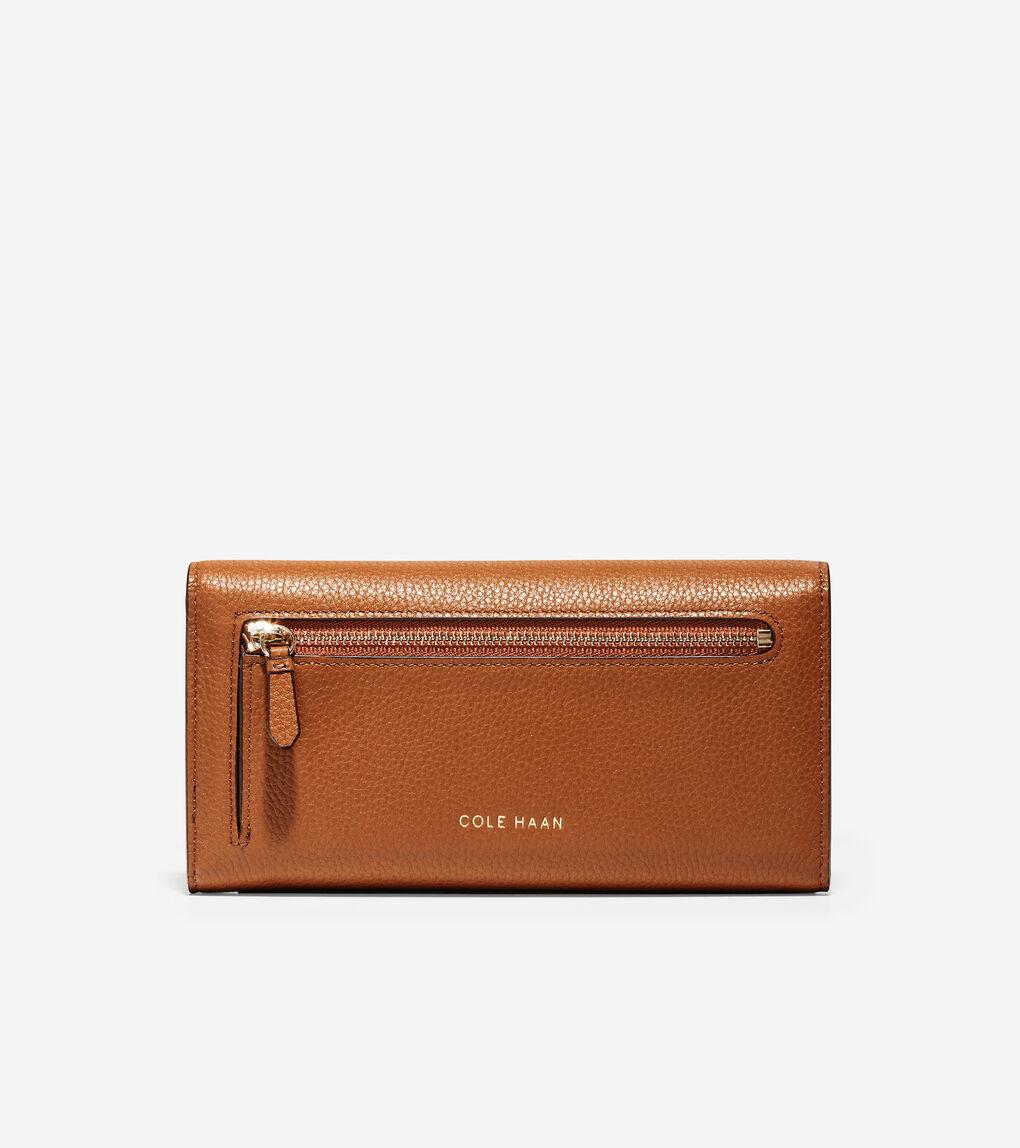 WOMENS GRANDSERIES Flap Continental Wallet