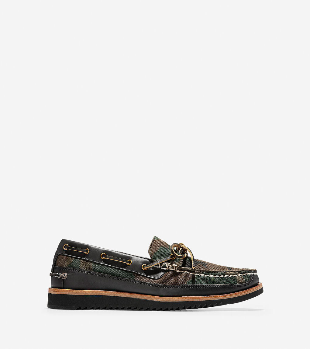 Mens Pinch Rugged Camp Moc Loafer