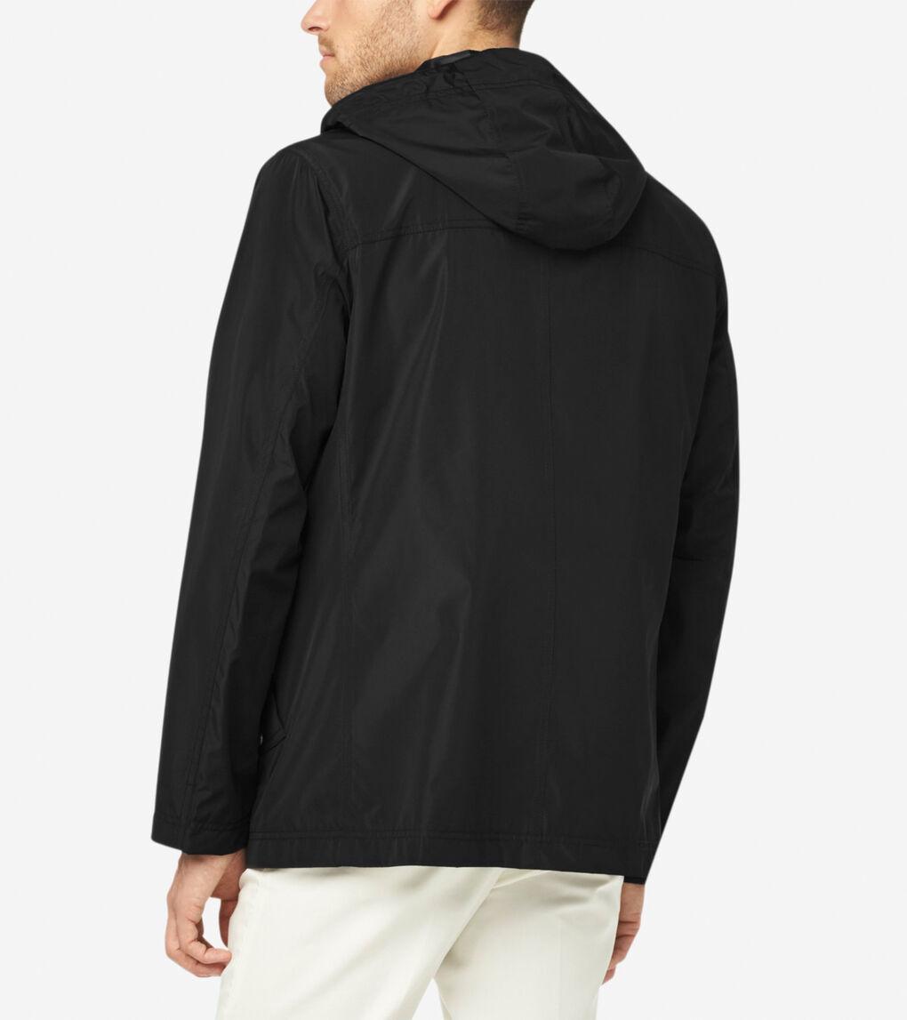 Mens Hooded Rain Jacket