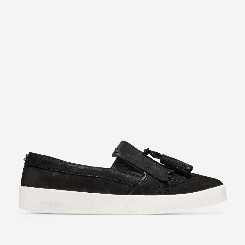 Womens GrandPrø Spectator Kiltie Tassel Slip-On Sneaker