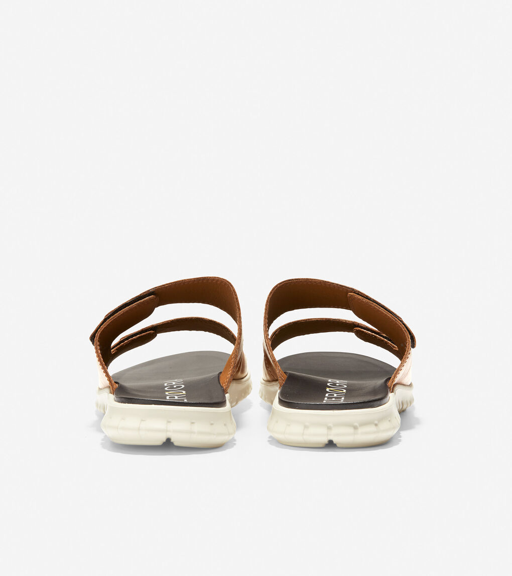 MENS ZERØGRAND Multi-Strap Slide Sandal