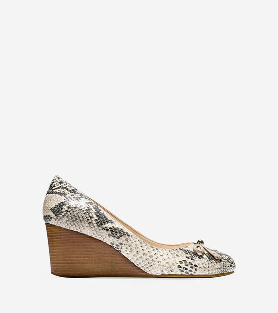Shoes > Elsie Lace Wedge (65mm)