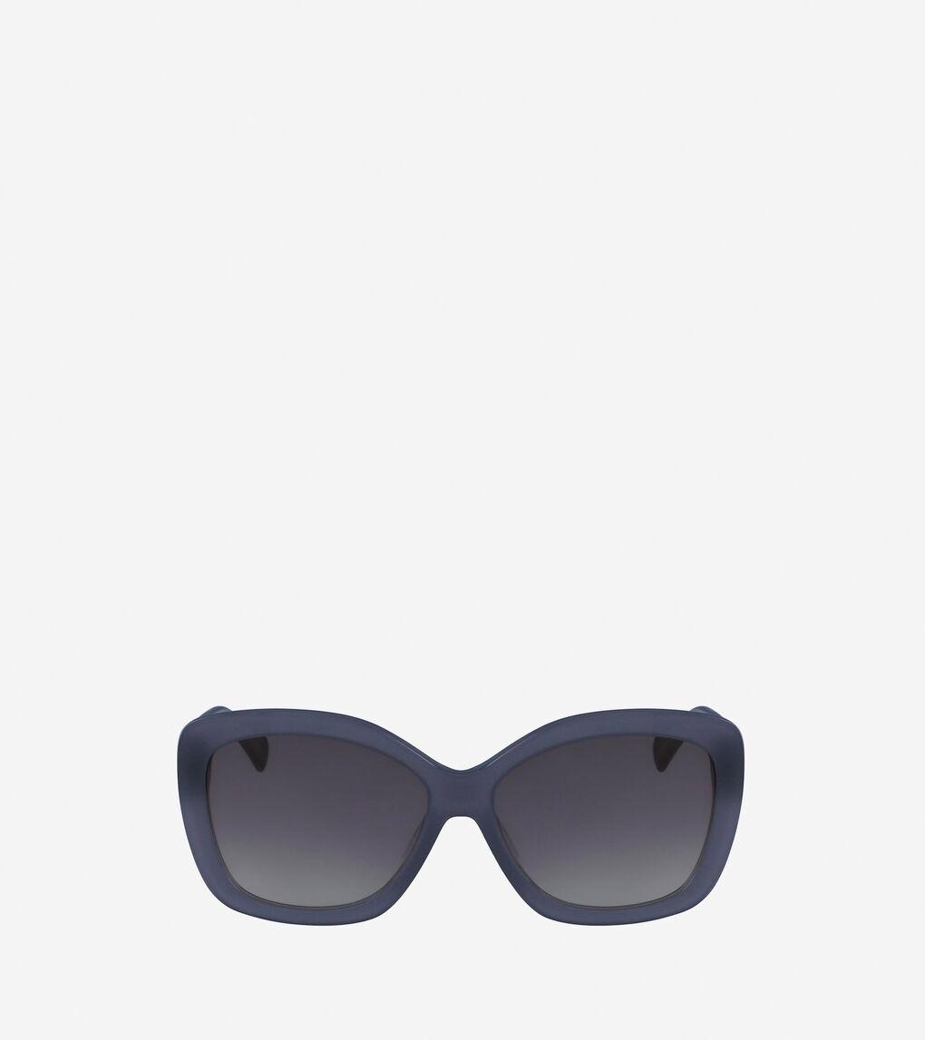 Womens Acetate Cateye Sunglasses
