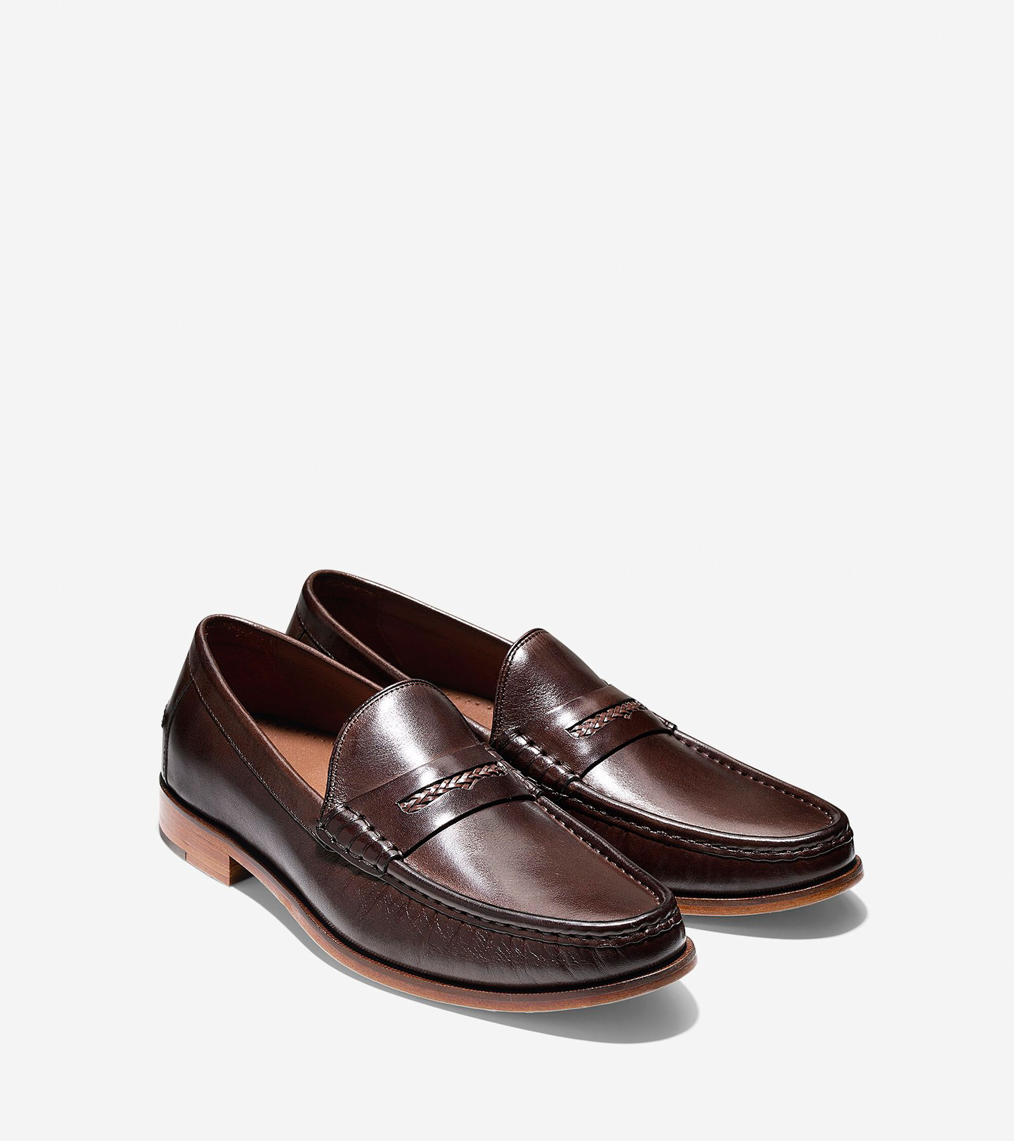 d4841282e15 Mens Pinch Gotham Penny Loafers in Chestnut