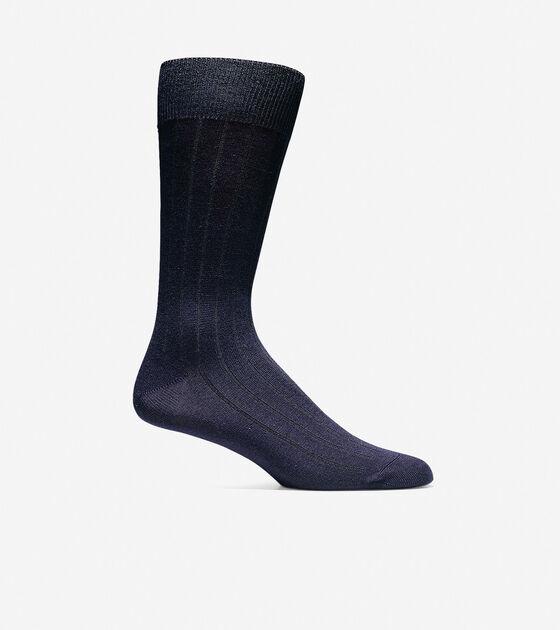 Socks > Ribbed Crew Socks