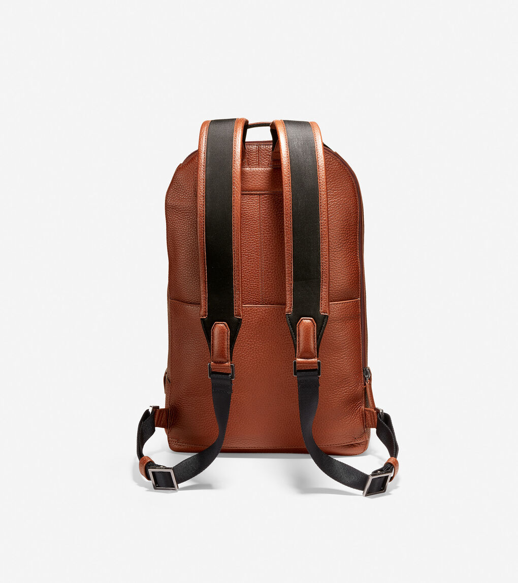 Mens GRANDSERIES Leather Backpack