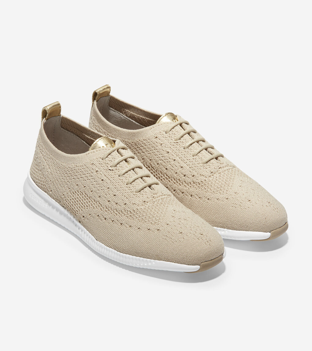Womens 2.ZERØGRAND Wingtip Oxford