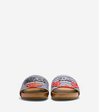 Pinch Montauk Lobster Slide Sandal