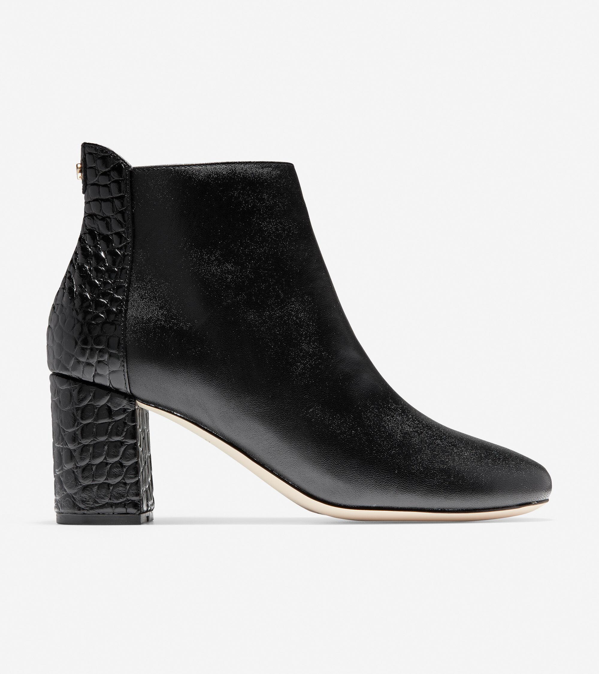 Women's Nella Bootie (65mm) in Black