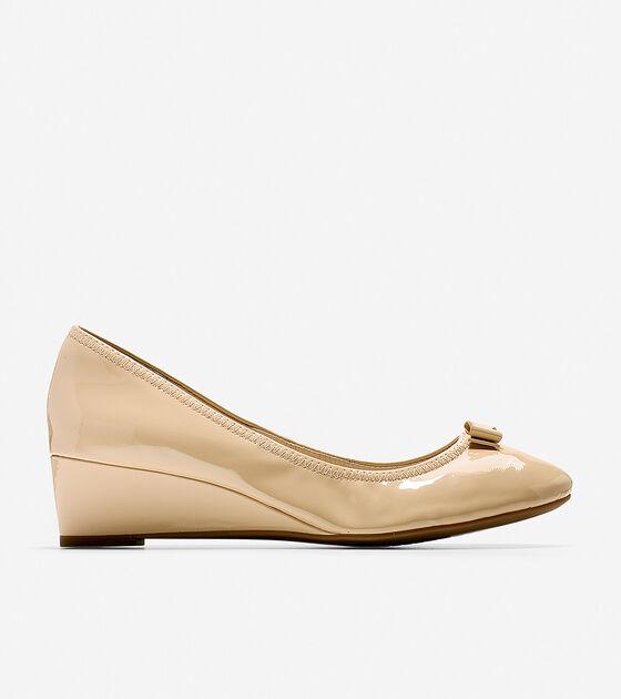 Shoes > Tali Mini Bow Wedge (40mm)