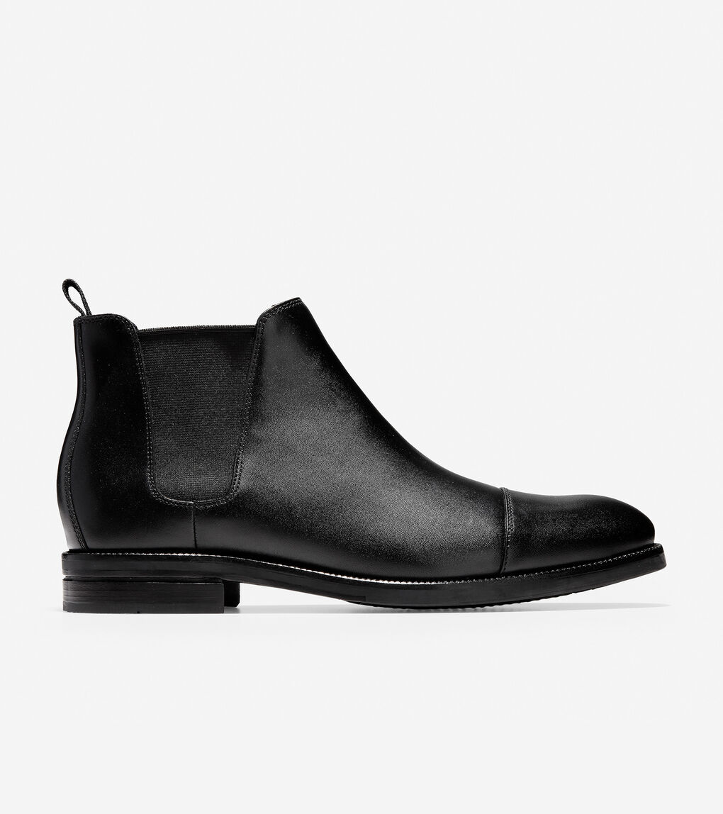 2526eefa8cc07 Men's Wagner Grand Chelsea Boot in Black Leather | Cole Haan US