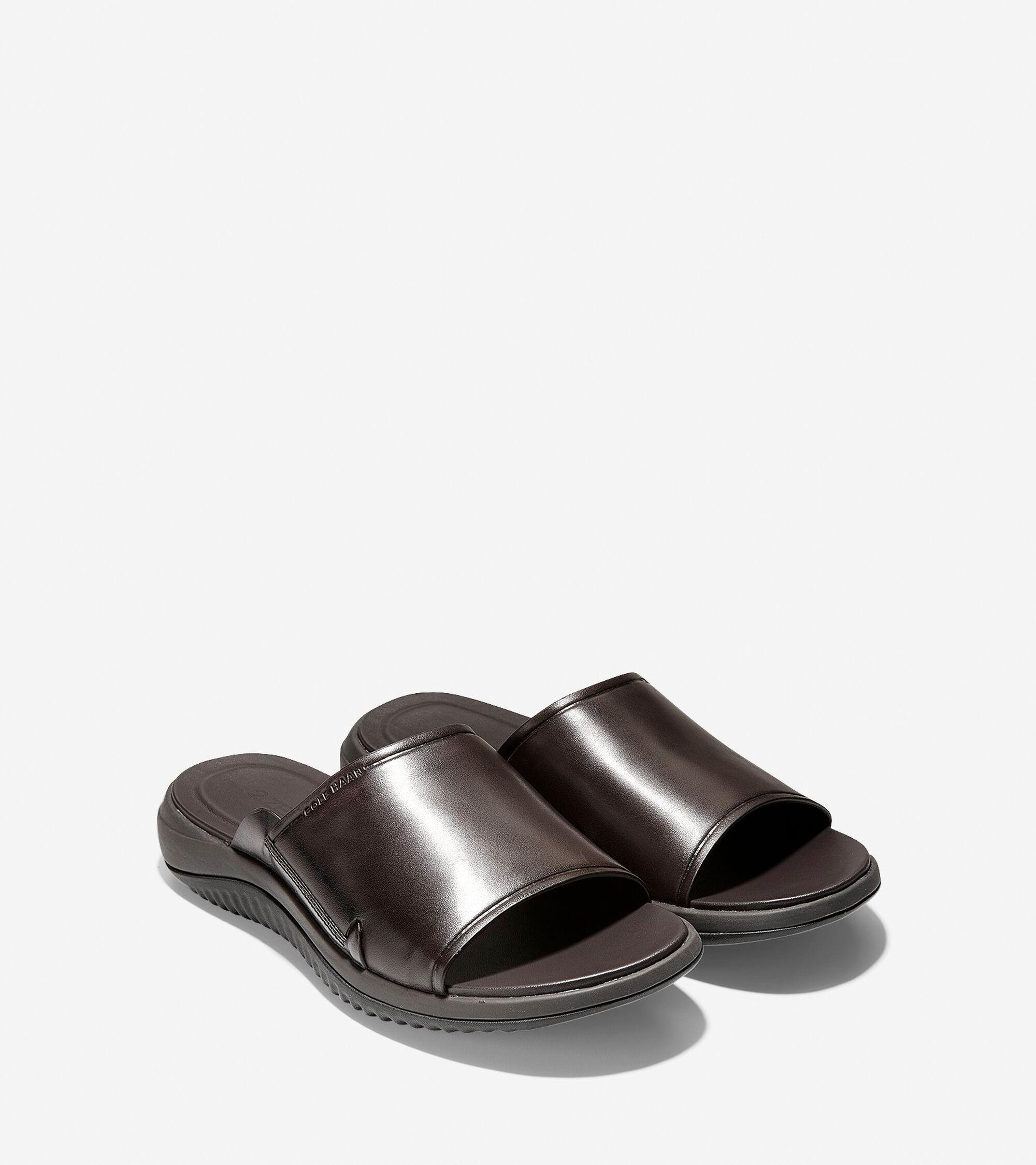 3d7e106b94df Men s 2.ZEROGRAND Slide Sandals in Dark Roast