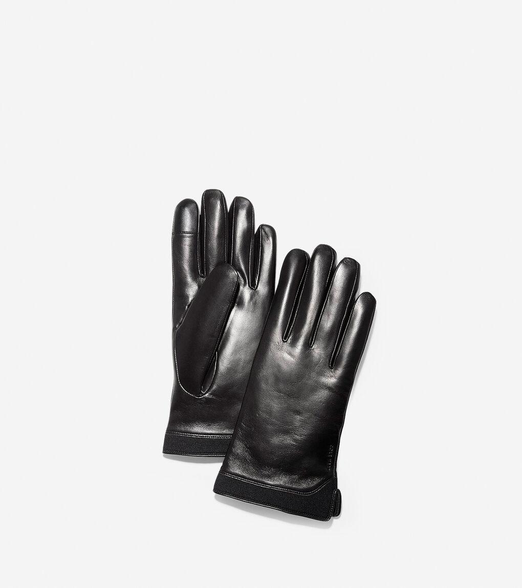 Mens 3.ZERØGRAND Leather Neoprene Gloves