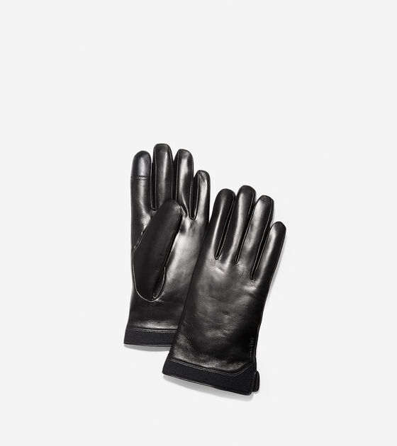 Bags & Outerwear > 3.ZERØGRAND Leather Neoprene Gloves