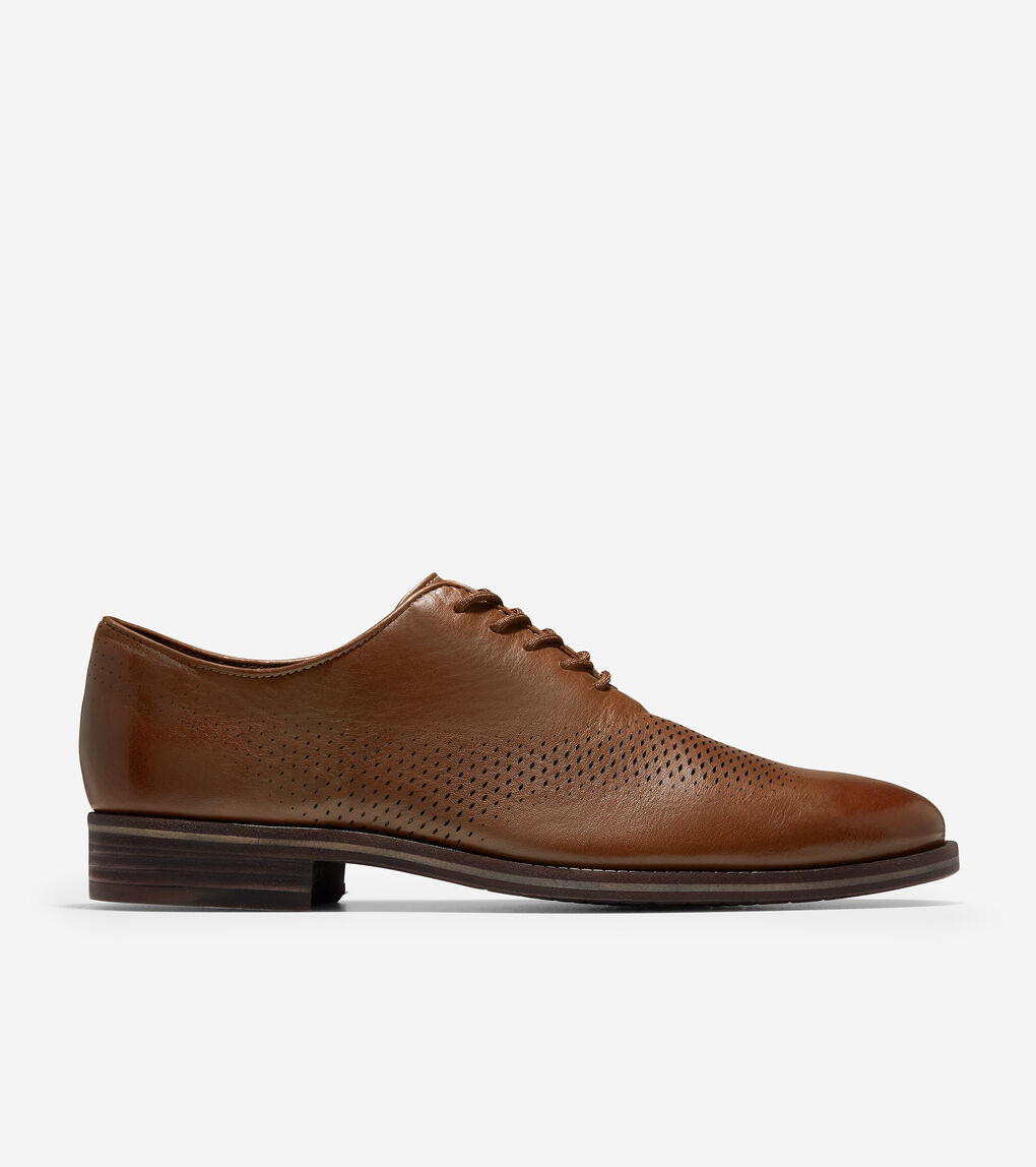 MENS Washington Grand Laser Wingtip Oxford