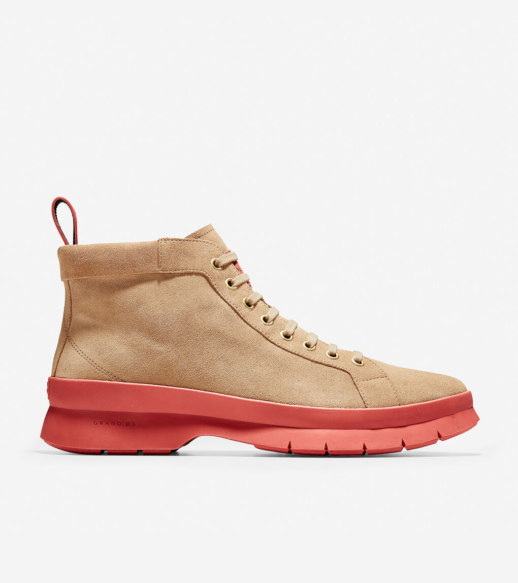 1a4601583b84f Men's Pinch Utility Chukka Boot in Shifting Sand Suede-Red Ochre ...