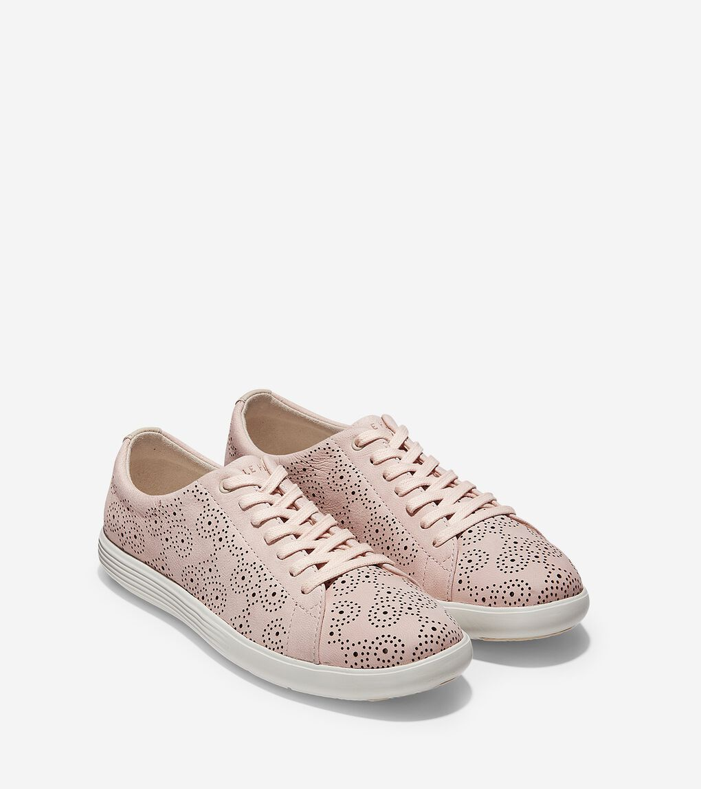 Womens Grand Crosscourt Perforated Sneaker