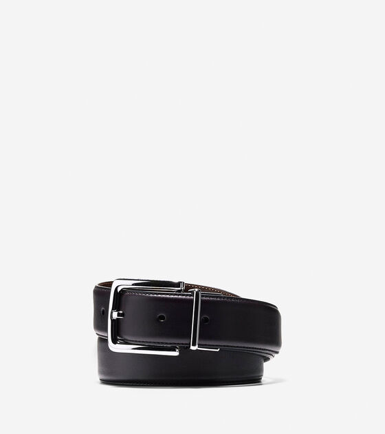 Accessories & Outerwear > 32mm Reversible Dress Leather Belt