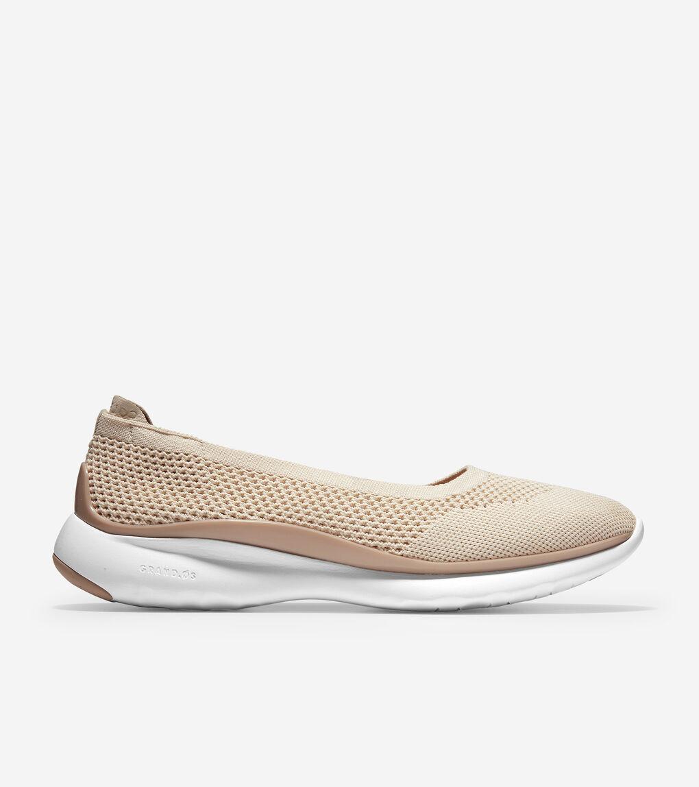 Womens 3.ZERØGRAND Ballet Flat