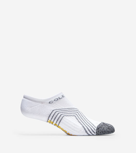 Socks > ZERØGRAND Chevron Stripes Low Cut Socks