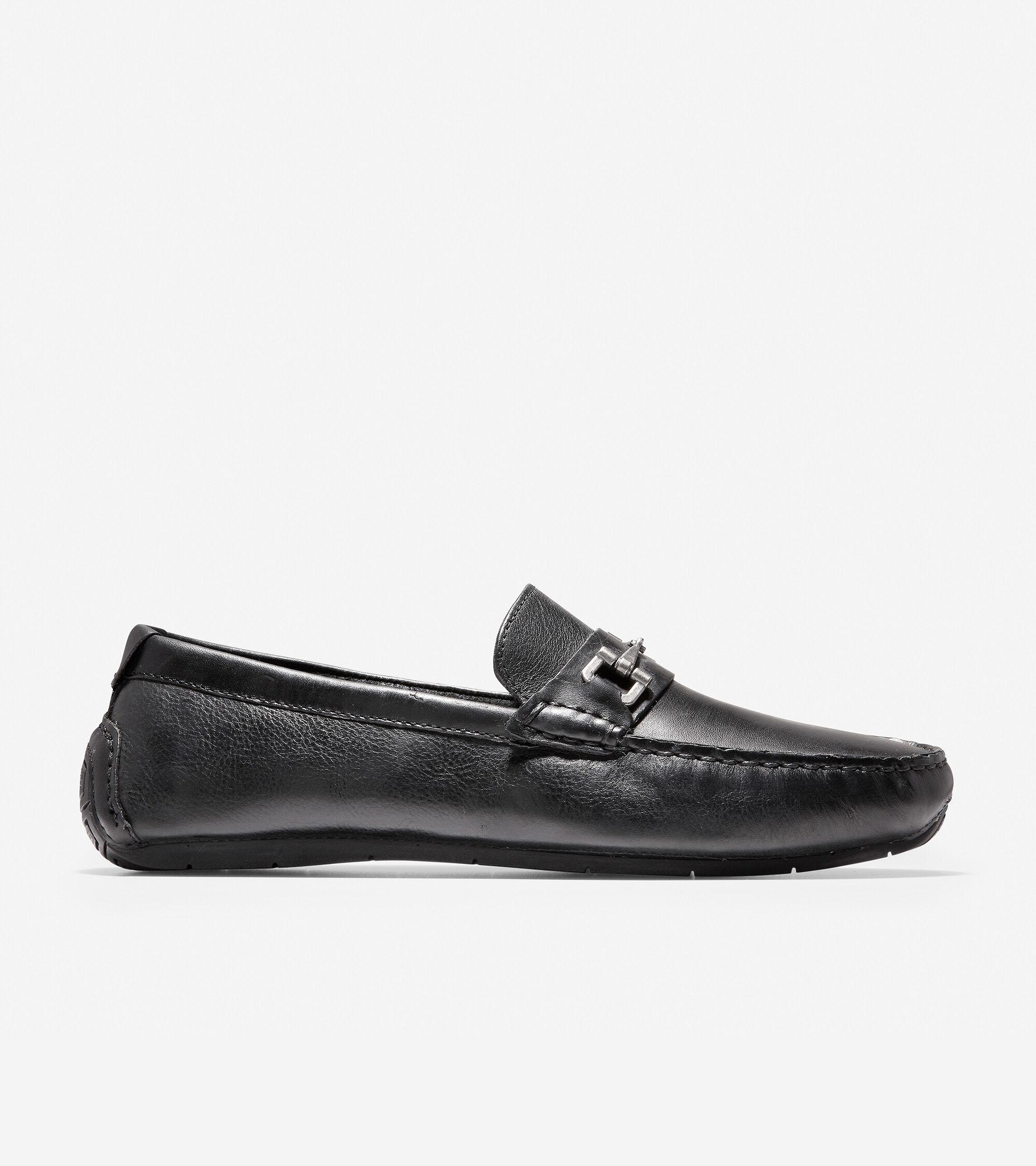 8b6c50cf146 Men s Somerset Link Bit Loafers in Black   Sale