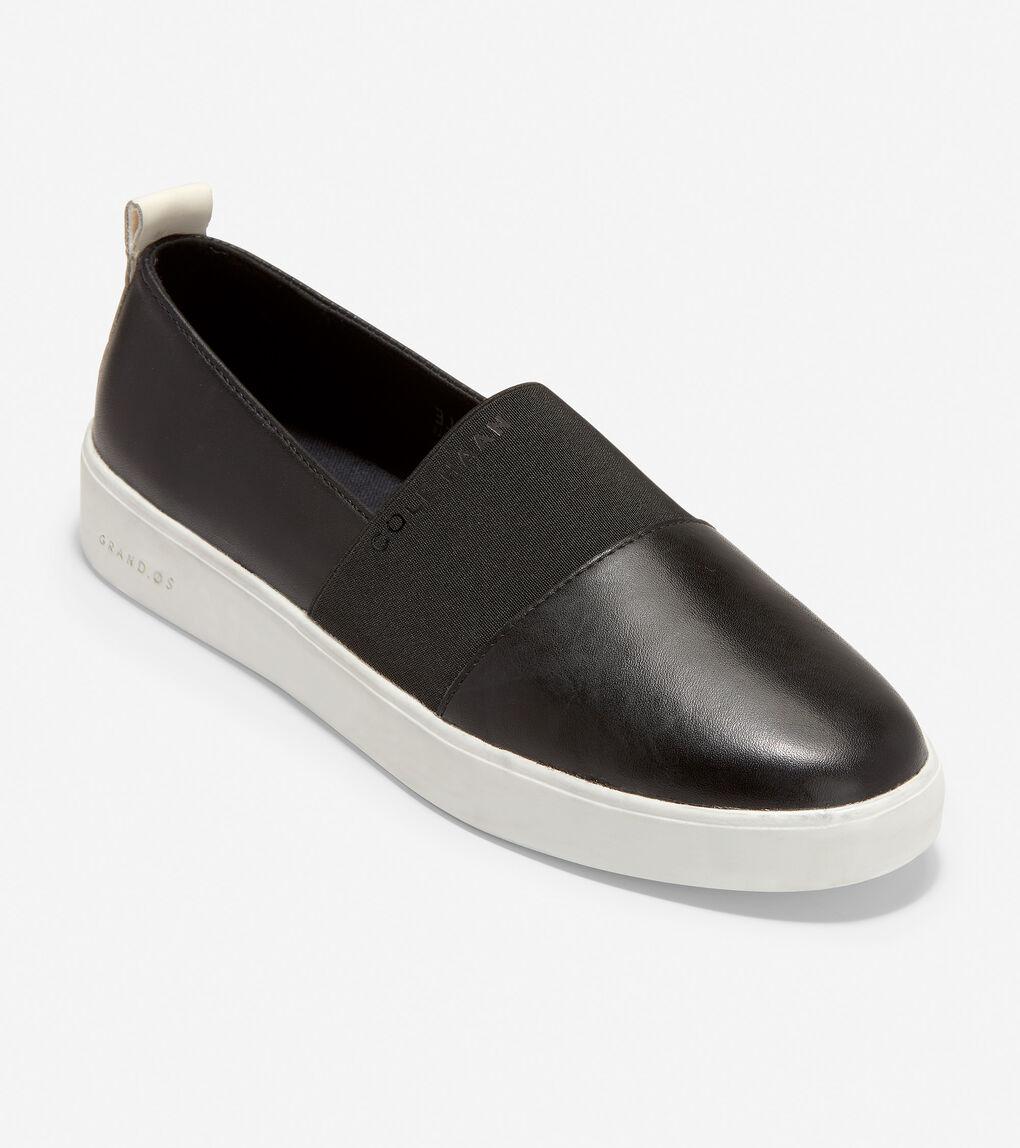 WOMENS Grand Crosscourt Street Slip-On Sneaker