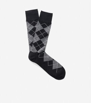 Classic Argyle Crew Socks