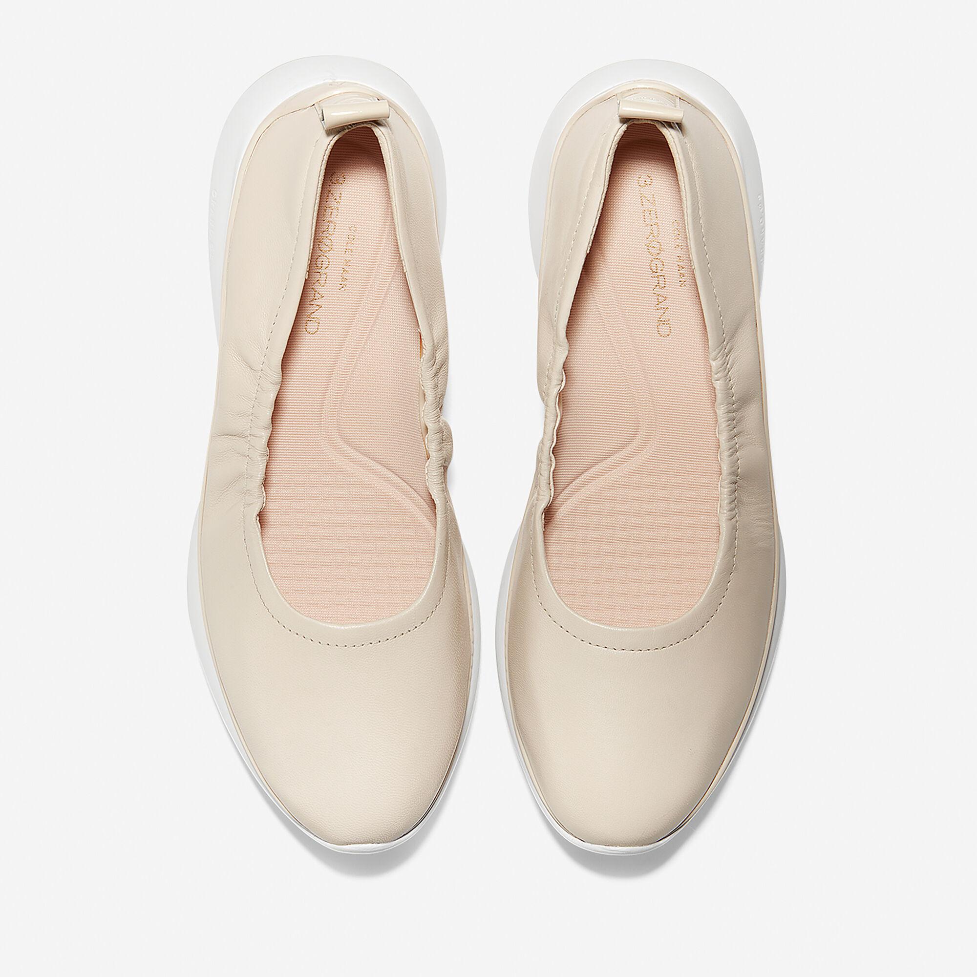 6fa1e93b1 ZERØGRAND Ruched Slip-On Ballet Flat; Women's 3.ZERØGRAND Ruched Slip-On  Ballet ...